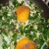 Sahanda Balıklı Yumurta