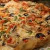 Biberli Mantarlı Pizza
