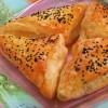 Bulgurlu Kıymalı Milföy Börek