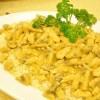 Krema Tavuklu Pirinç Pilavı