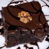 Çikolata Soslu Browni