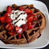 Çikolatalı Waffle