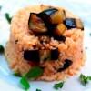 Domatesli Patlıcanlı Pirinç Pilavı