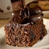 Bitter Çikolatalı Browni Kek