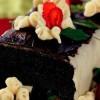 Marzipanlı Çikolatalı Pasta
