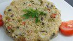 Semizotlu ve Patlıcanlı Bulgur Pilavı
