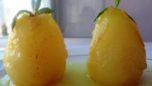 Kremalı ve Limonlu Armut Tatlısı