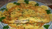 Acılı Balıklı Omlet