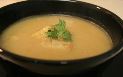 Ekmekli Kabak Çorbası