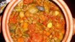 Nohutlu ve Patlıcanlı Güveç