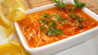 Çatal Çorba ( Erişte Çorbası)