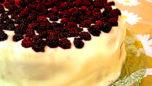 Böğürtlenli Pasta