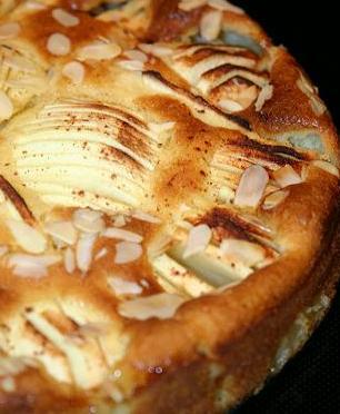 Elmalı ve Bademli Kek