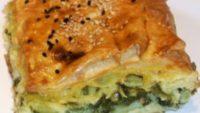 Pazılı Peynirli Milföy