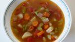 Yeşil Mercimekli Sebze Çorbası