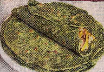 ıspanaklı peynirli krep