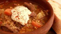 Etli Lahana Çorbası