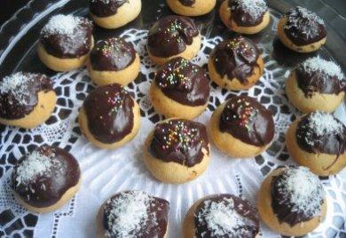 Çikolata Kaplı Kurabiye