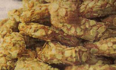 Kepekli Bal Badem Kurabiye