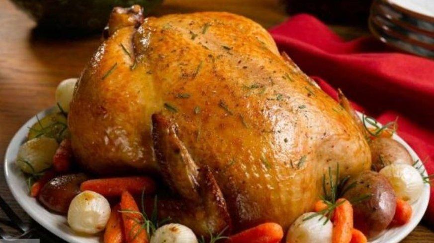 Bulgurlu ve Tereyağlı Tavuk Tarifi