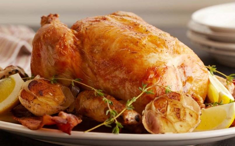 Bulgurlu ve Tereyağlı Tavuk Yapılışı