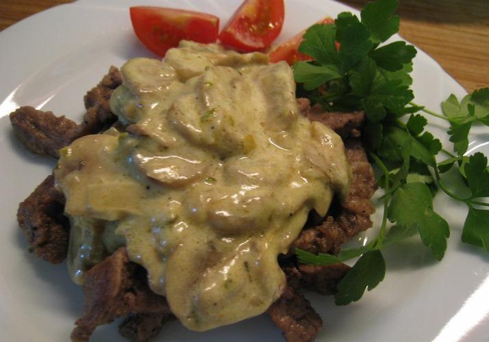 Kremalı Yaprak Biftek Tarifi