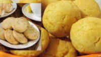 Limonlu ve Susamlı Kurabiye
