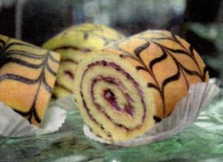 ayva püreli rulo pasta