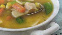 Mısırlı ve Havuçlu Tavuk Çorbası