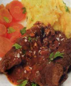 Sarımsaklı Biftek