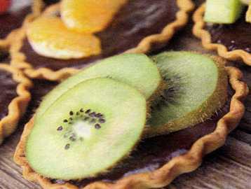 Meyveli ve Çikolatalı Tart