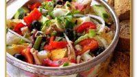 Saray Usulü Domates Salatası