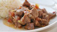 Domatesli Et Kızartması