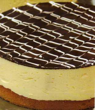 Çikolata Kaplı Damla Sakızlı Cheesecake