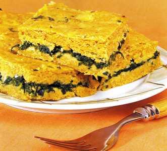 Ispanaklı Mısır Ekmeği