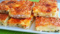 Beyaz Peynirli Tepsi Böreği