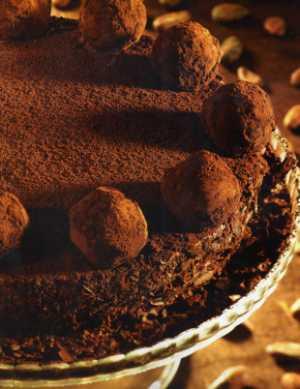 Truffle Cake (Yoğun Çikolatalı Pasta)