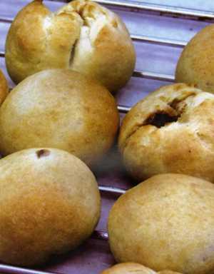 Elmalı Cevizli Top Kurabiye