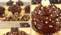 Çikolata Kremalı Muffin