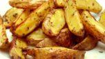 Fırında Patates Dilimleri