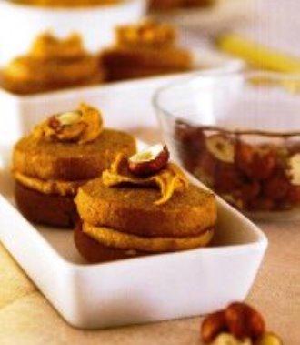 kahveli fındıklı kurabiye