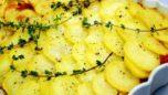 Fırında Etli Patates Dizmesi