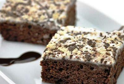 Kakaolu Kremşantili Kek