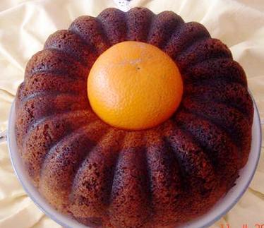 Kakolu Portakallı Kek