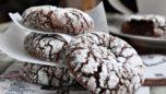 Çikolatalı Çatlak Kurabiyeler