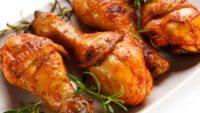Hardallı Ballı Fırında Tavuk