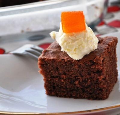 Pudingli kakaolu Kek