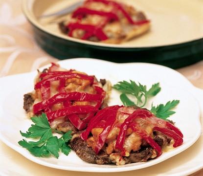 fırında mantar soslu bonfile
