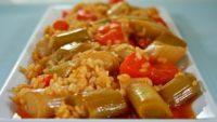 Zeytinyağlı Pirinçli Pırasa