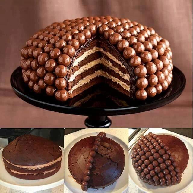 draje-çikolatalı-pasta